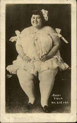 Fat Lady - Baby Viola Wt. 612 lbs