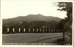Blue Ridge Parkway and Grandfather Mtn