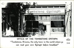 Office of the Tombstone Epitaph