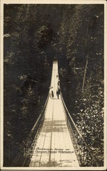 Suspension Bridge Over Campilano Canyon