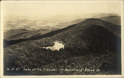 Lake of the Clouds, Mt. Mansfield