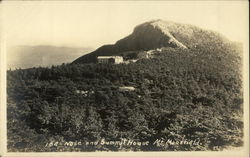 Nose and Summit House, Mt. Mansfield