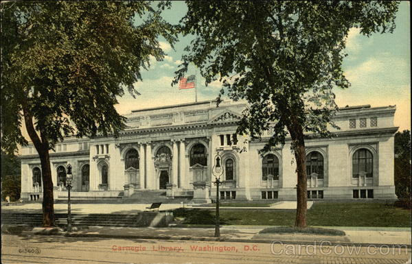 Carnegie Library Washington District of Columbia