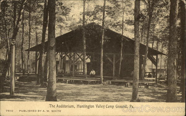 The Auditorium, Huntingdon Valley Camp Ground Pennsylvania
