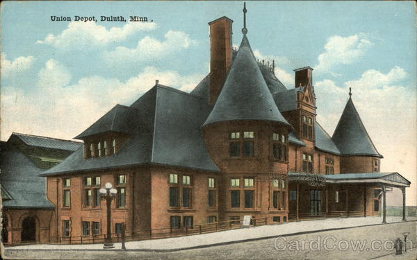 Street View of Union Depot Duluth Minnesota