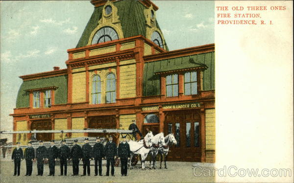 The Old Three Ones Fire Station Providence Rhode Island