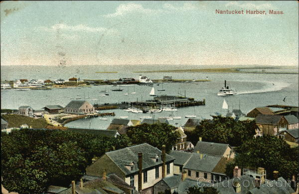 Nantucket Harbor Massachusetts