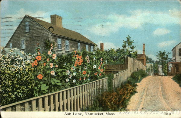 Ash Lane Nantucket Massachusetts