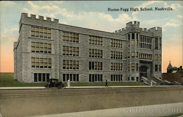 Hume-Fogg High School Nashville Tennessee