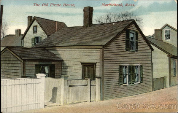 The Old Pirate House Marblehead Massachusetts