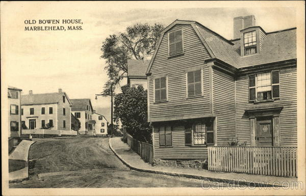 Old Bowen House Marblehead Massachusetts