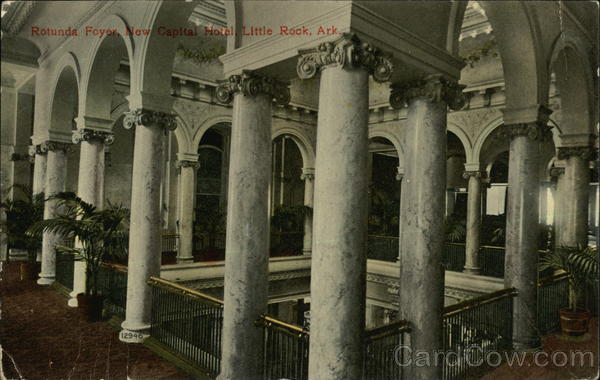 Rotunda Foyer, New Capital Hotel Little Rock Arkansas