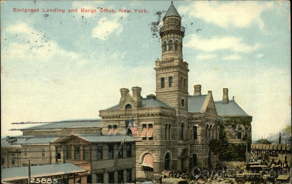 Emigrant Landing and Barge Office New York
