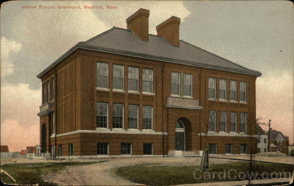 James School, Glenwood Medford Massachusetts
