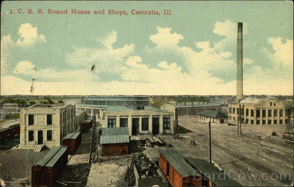 ICRR Round House and Shops Centralia Illinois