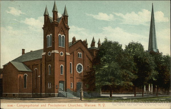 Congregational and Presbyterian Churches Warsaw New York