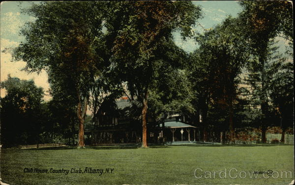 Club House, Country Club Albany New York