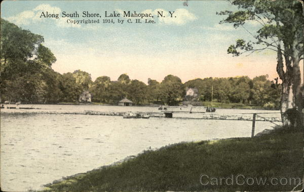 Along South Shore Lake Mahopac New York