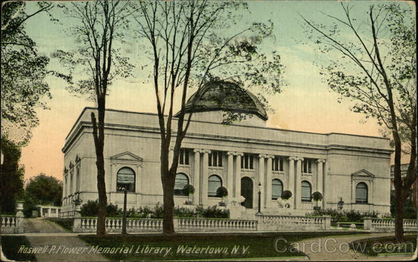 Roswell P. Flower Memorial Library Watertown New York