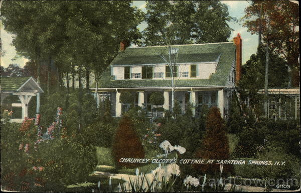 Chauncey Olcott's Cottage Saratoga Springs New York
