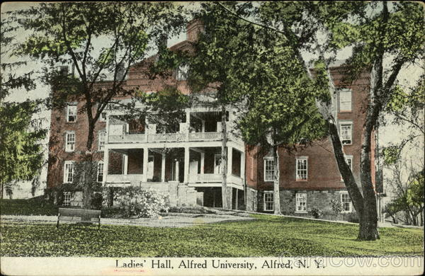 Ladies' Hall, Alfred University New York