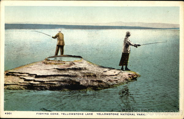 Fishing cone yellowstone lake yellowstone national park for Yellowstone lake fishing