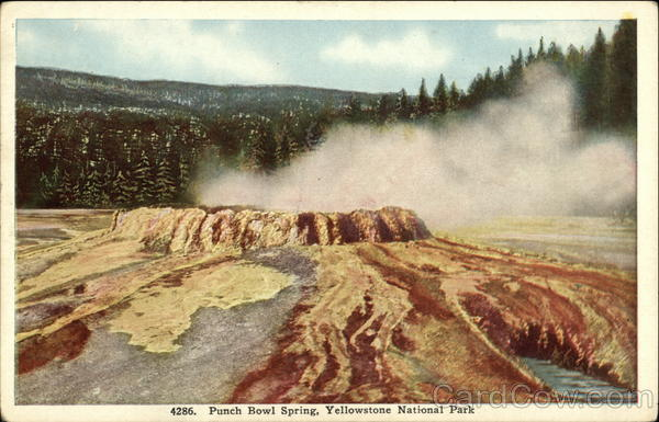 Punch Bowl Spring, Yellowstone National Park