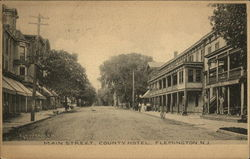 Main Street and County Hotel