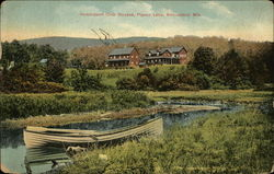 Irondequoit Club Houses, Piseco Lake, Adirondack Mountains