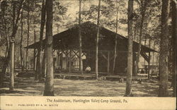 The Auditorium, Huntingdon Valley Camp Ground