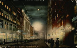 Fifth Avenue at Night