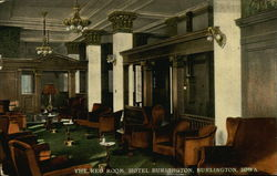 Hotel Burlington - The Red Room