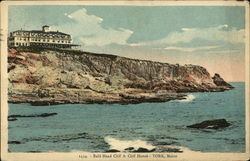 Bald Head Cliff and Cliff House Postcard