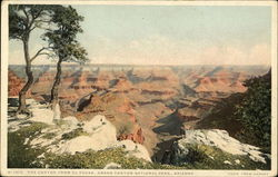 The Canyon From El Tovar