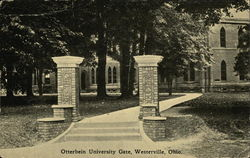 Otterbein University Gate Postcard