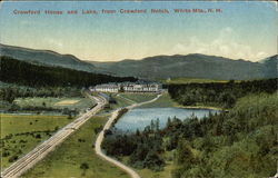 Crawford House and Lake, from Crawford Notch, White Mts., N.H