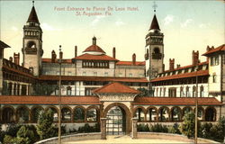 Front Entrance to Ponce De Leon Hotel