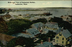 Birds Eye View of Nantucket Harbor