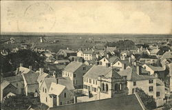 Birds Eye View of Nantucket, Mass., Looking Toward the Old Mill Built 1746