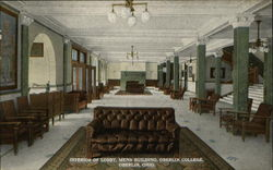 Oberlin College - Mens Building, Interior of Lobby