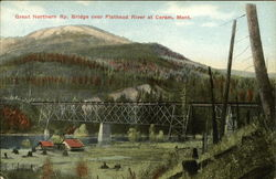 Great Northern Railway Bridge over Flathead River