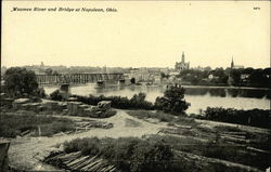 Maumee River and Bridge