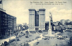 Union Square & St. Francis Hotel