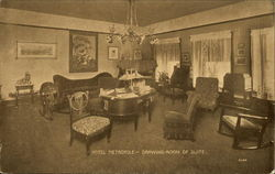 Hotel Metropole, Drawing Room of Suite