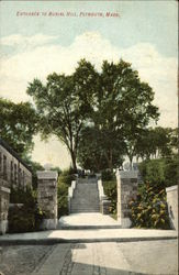 Entrance to Burial Hill