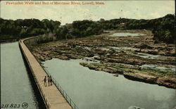 Pawtucket Walk and Bed of Merrimac River