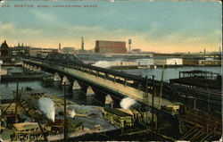 Charlestown Bridge Postcard