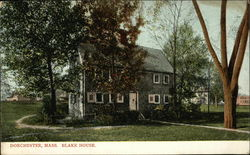 Blake House and Grounds Postcard