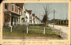 Officer's Row, Concord Junction