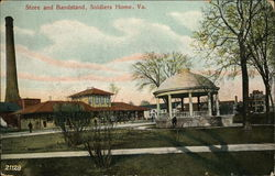 Store and Bandstand, Soldiers Home